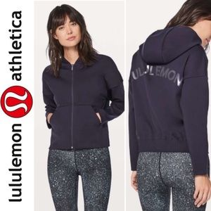 Lululemon Logo hooded Jacket